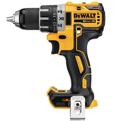 Picture of the beautiful DeWalt DCD791 20V Max XR Li-Ion 0.5 Brushless Drill/Driver